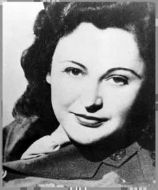 Nancy Wake, the White Mouse, 1943  Permission Nine Network, Australia.