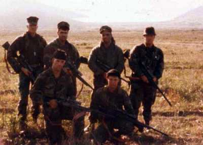 On Deployment as a Scout/Sniper with 8th Marine Regiment 1985