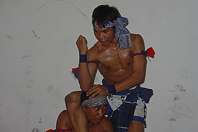 Cambodian Bokator Elbow Strikes