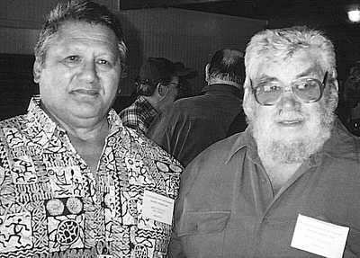 Mo Sakata and Bruce McCready
