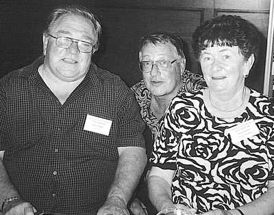 Bob Glozier, Lloyd OHalloran and Rose Crozier