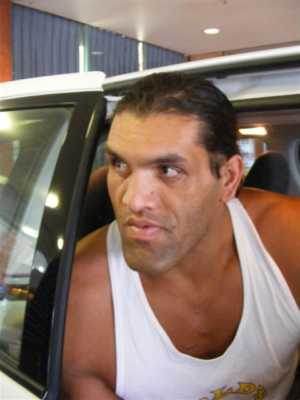 The 7 Foot Indian The Great Khali