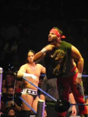 Chavo Guerrero And CM Punk At Rear