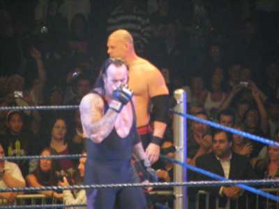 Huge Stars Kane And Undertaker