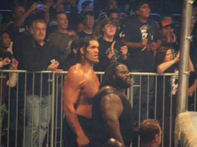 Giant Khali And Mark Henry  Billed As The World'S Strongest Man