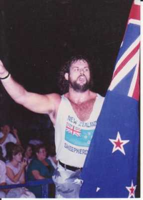 Ripper Morgan Was Flag Bearer For The