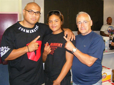 David Tua - Megan Maka - Roger Bloodworth