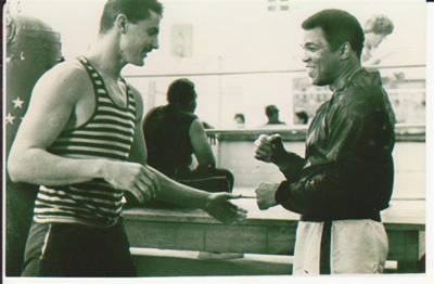 Michael Kenny with the Greatest Muhammad Ali