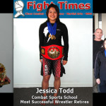 Jessica Todd, Combat Sports School Most Successful Wrestler, Retires