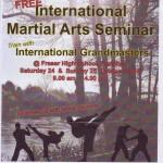 Free Martial Arts Seminar