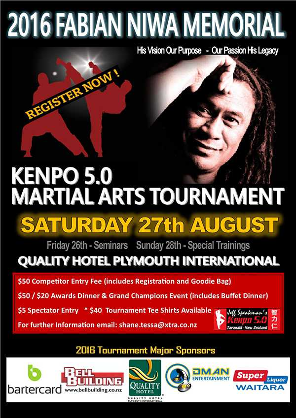 2016 Fabian Niwa Kenpo Tournament